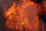 Пожар в селе Антоново Ордынского района