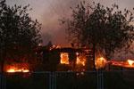На базе отдыха сгорели выпускники школы