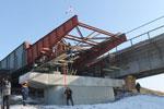 В области строится кратчайшая трасса в Казахстан